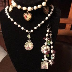 Vintage necklace and bracelets